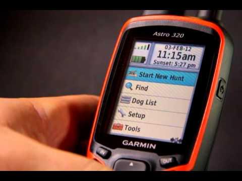 2012 Garmin Astro: How To START NEW HUNT / MARK TRUCK
