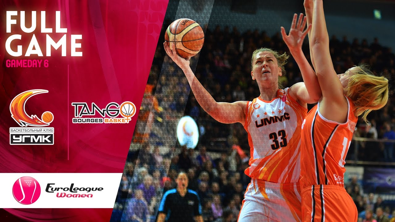 UMMC Ekaterinburg v Bourges Basket - Full Game - EuroLeague Women ...