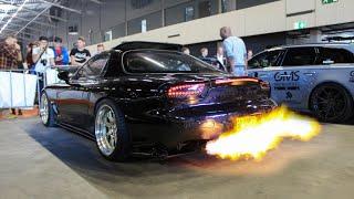 ULTIMATE REV Battle 2x Supra vs. E30 vs. RX7 vs. R33 vs. RS4 | Extreme FLAMES & BANGS