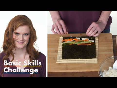 50 People Try to Make Sushi | Epicurious