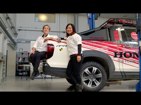 The Women of Honda Inspire with their Challenging Spirit | She Drives Us Forward