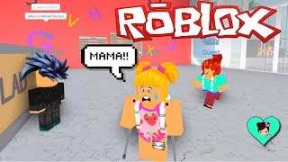 baby Goldie has a bad day at school - Roblox Roleplay