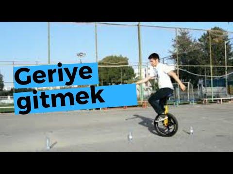 Tek Teker Bisiklet - Unicycle nasıl kullanılır ve sürülür |  Geriye doğru gitme ve dönüşler