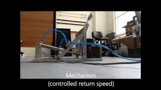 Pneumatic Catapult - Testing