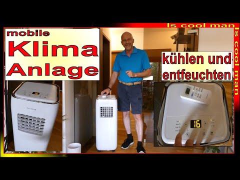 4 in 1 portable klimaanlage f r zu hause k hlen heizen. Black Bedroom Furniture Sets. Home Design Ideas