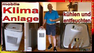 4 in 1 Portable Klimaanlage für zu Hause - kühlen, heizen, entfeuchten, lüften, günstige Alternative