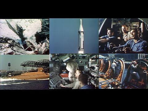 The US Navy's Revolutionary Polaris Ballistic Missile Submarines (Restored Color1960)