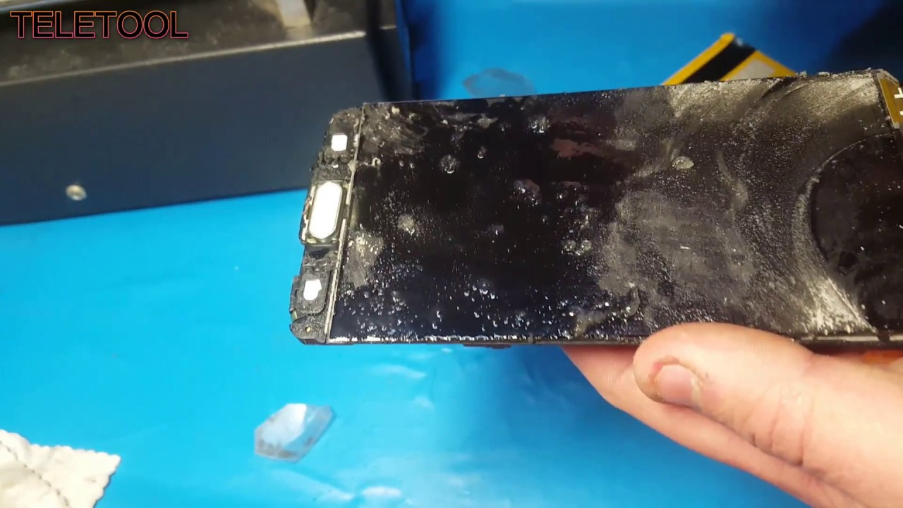 Ремонт Телефона замена стекла дисплей samsung А5 2016 A510F glass replacement
