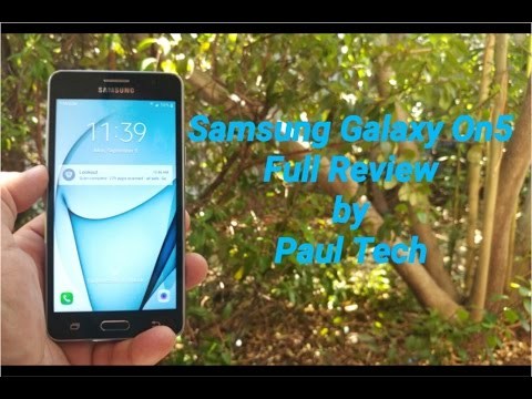 Samsung Galaxy On5 T-Mobile/Metro pcs Full Review