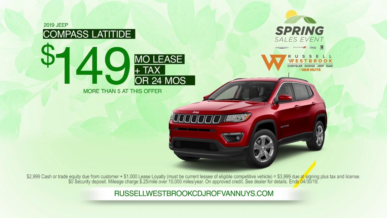 2019 Spring Sales Event Van Nuys Chrysler Dodge Jeep Ram Youtube