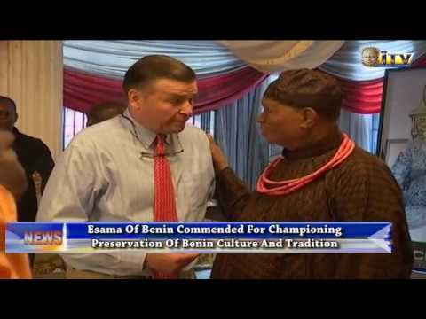 Esama Of Benin Commended For Championing Preservation Of Benin Culture And Tradition