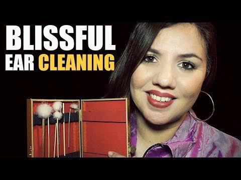 ASMR Blissful EAR Cleaning ROLEPLAY ♡ Soft Spoken