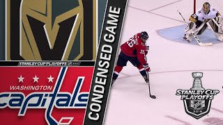 06/02/18 Cup Final, Gm3: Golden Knights @ Capitals