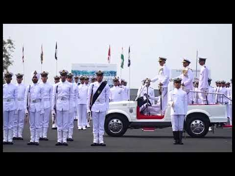 Indian Naval Academy | Passing out parade AT 17|