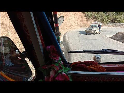 Way To Achham Nepal || Tata 2518 Truck Driving|| Nepali Truck Driver