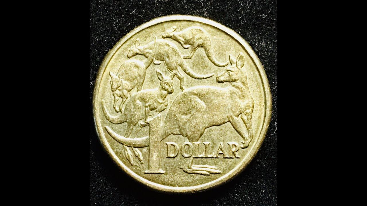 Australia 1985 1 Dollar Mob Of Roos