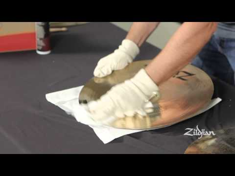 Zildjian - How to Clean Brilliant Finish Cymbals