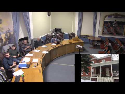 City of Plattsburgh, NY Meeting  11-25-19