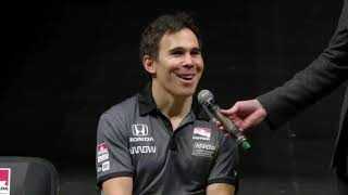 Robert Wickens at ARROW Announcement -- January 18, 2019