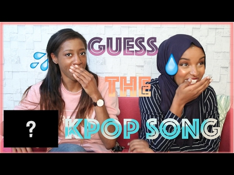 Guess The K-pop Song Challenge!