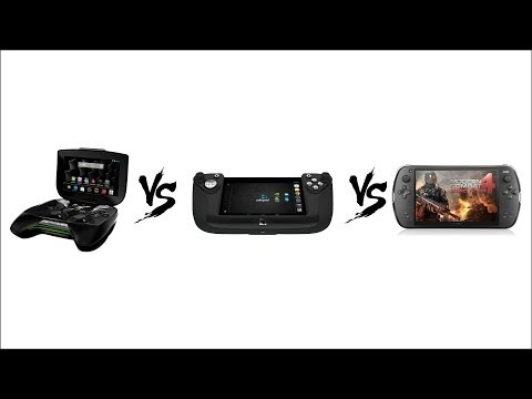 NVIDIA SHIELD vs WIKIPAD vs JXD S7800b (Console Comparison)