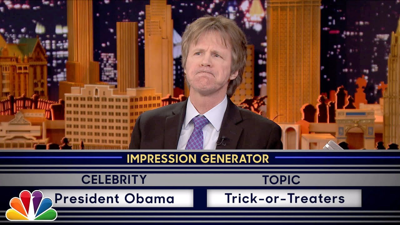 This is hilarious ... Dana's impressions of President Obama, Lorne Michaels and Paul McCartney...Jimmy's impressions of Mick Jagger and Bernie Sanders ... Enjoy!!!