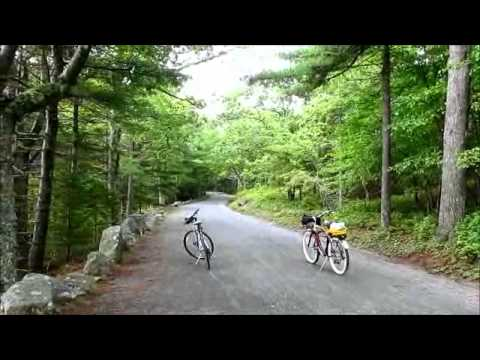 Bike Riding Maine's Carriage Roads