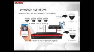 Learn How to Use IP / Analog Hybrid DVRs