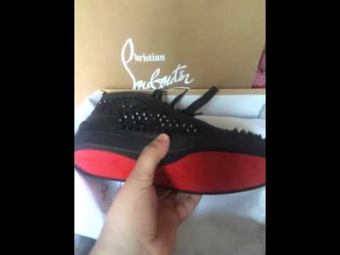 ce281a928c5 Christian Louboutin (Red Bottoms) For Men Junior Spikes