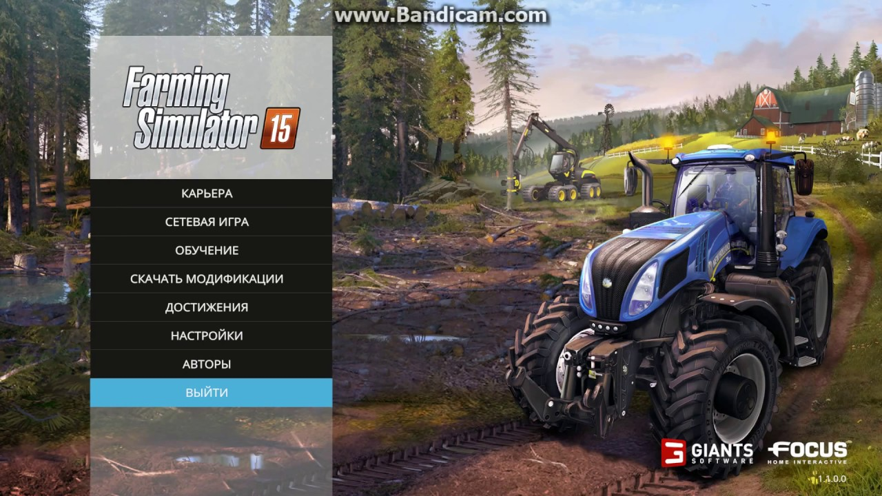 How to change Language in FS 15 Russian to English (Farming Simulator 15)