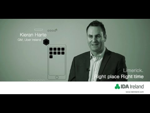 Uber's Centre of Excellence in Limerick - In conversation with Kieran Harte, GM Uber Ireland 2016