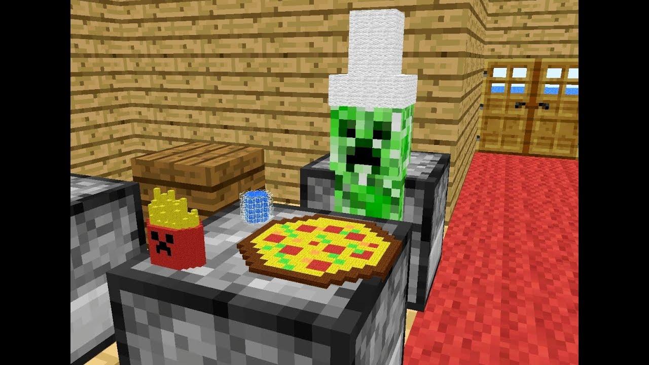 Minecraft Baking Cake