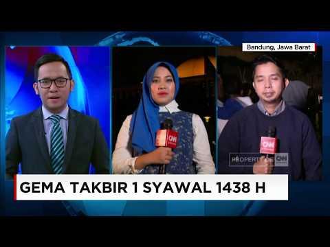 Gema Takbir, Antusiasme Warga Muslim Menyambut Hari Kemenangan Tiba di Malam Takbir - Live Report