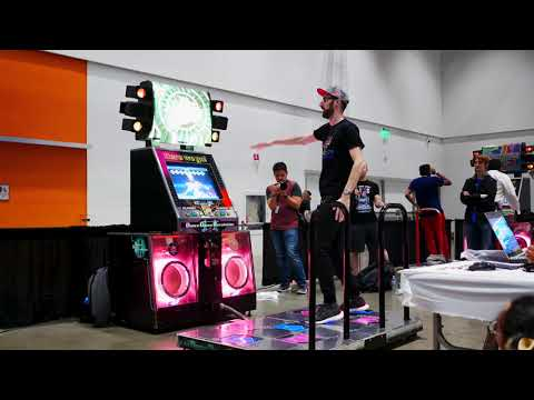 Captain Canada - Night in Motion (Exhibition) // DDR Freestyle