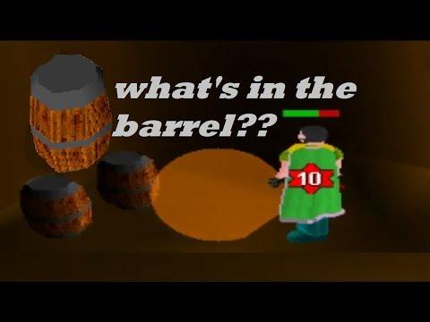 Runescape Classic   1 Hour Of Strange Barrels (Loot)