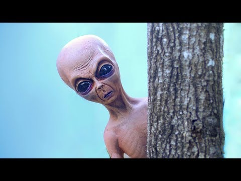 CREEPY ALIEN CAUGHT!