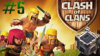 Clash of Clans # 5 Ya tengo Castillo de Clan y Mi 2do Ataque fue otro descalabro
