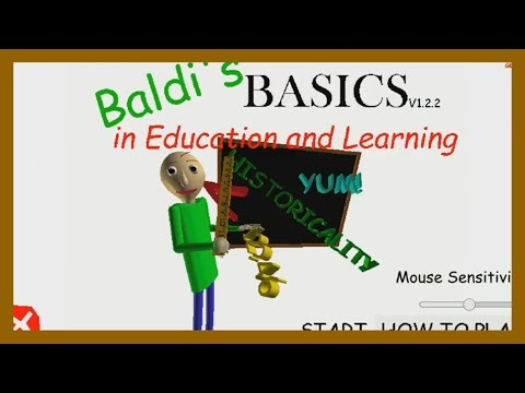 Baldi's Basics in Education and Learning - Sparta Unextended Remix