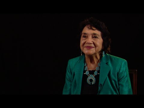 Presidential Medal of Freedom Recipient Dolores Huerta