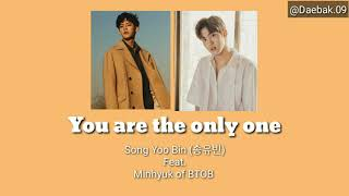 Easy Lyric Video you are the only one - Song Yoo Bin (송유빈) Feat. Minhyuk of BTOB by daebak.09