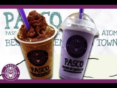 Making pasco drink (Membuat Ice Pasco)