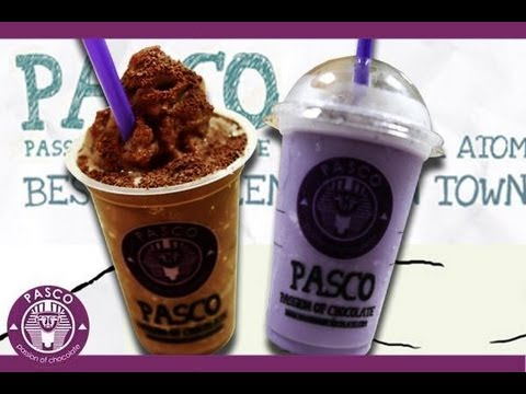 Making Pasco Drink Membuat Ice Pasco Youtube