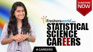 CAREERS IN STATISTICAL SCIENCE – B.Sc,M.Sc,Statisticians,Job Opportunities,Research