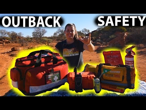 Travelling First Aid & Safety Equipment By A Rescue Volunteer