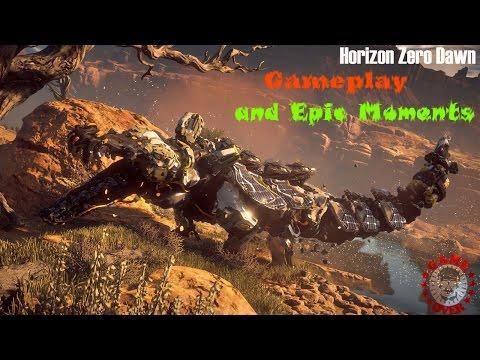 Horizon Zero Dawn - Gameplay and Epic Moments