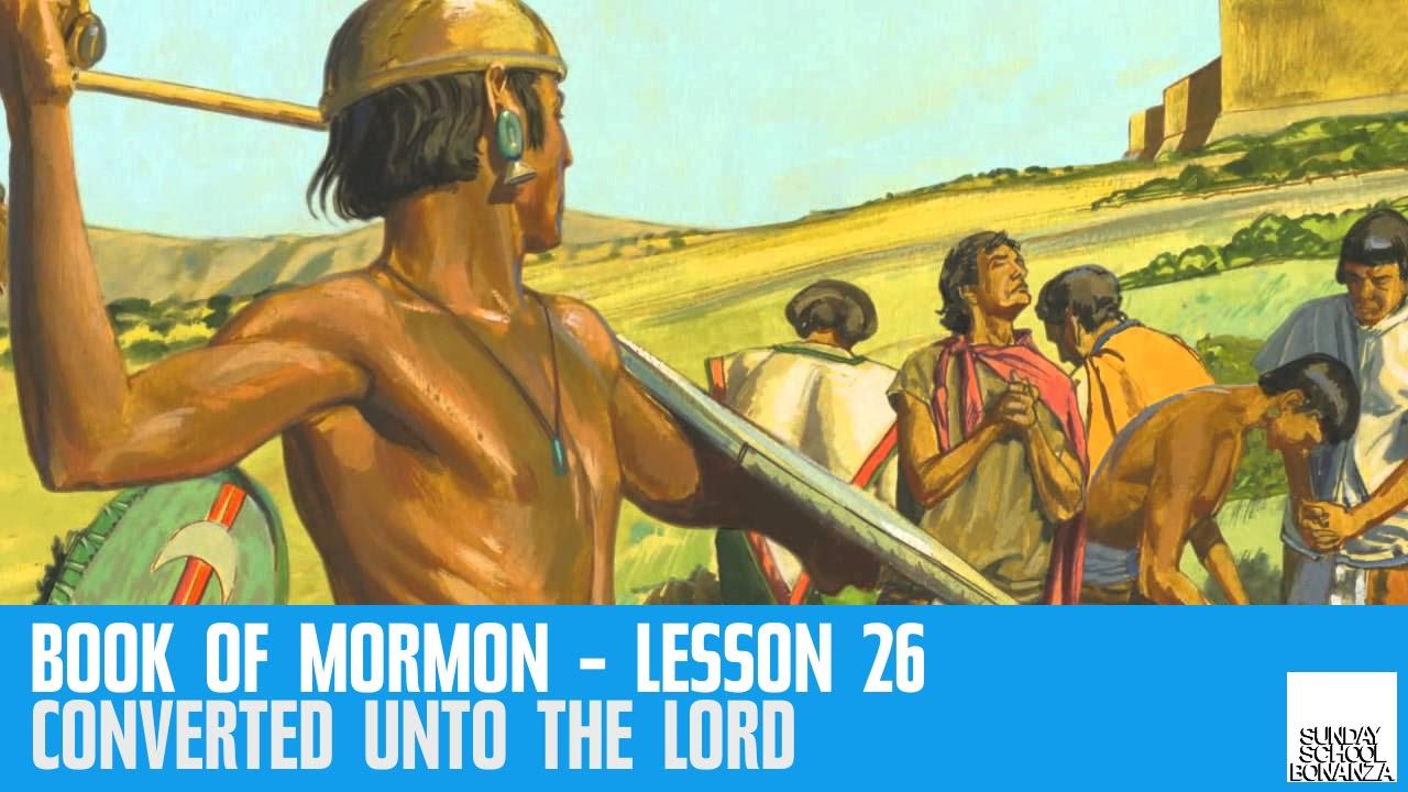Book Of Mormon Lesson 26