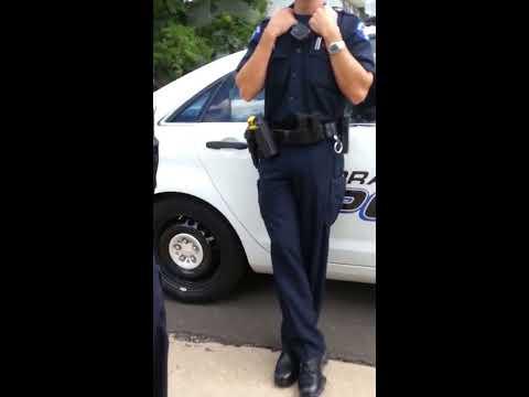 Open carry cop stop Aurora Colorado 2