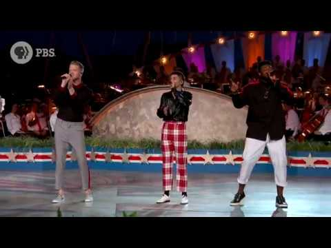 Pentatonix -  Stay  &  The Middle  Mashup - Capitol Fourth Live