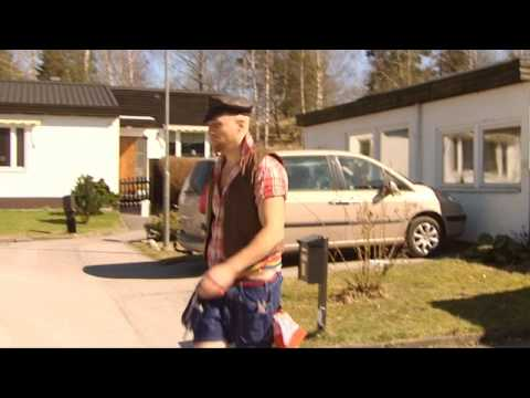 Robert Gustafsson som Tony Irving i Humorgalan
