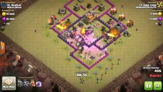 Best Attack Strategy For Town Hall 7 In Clan Wars 2017 Clash Of Clans